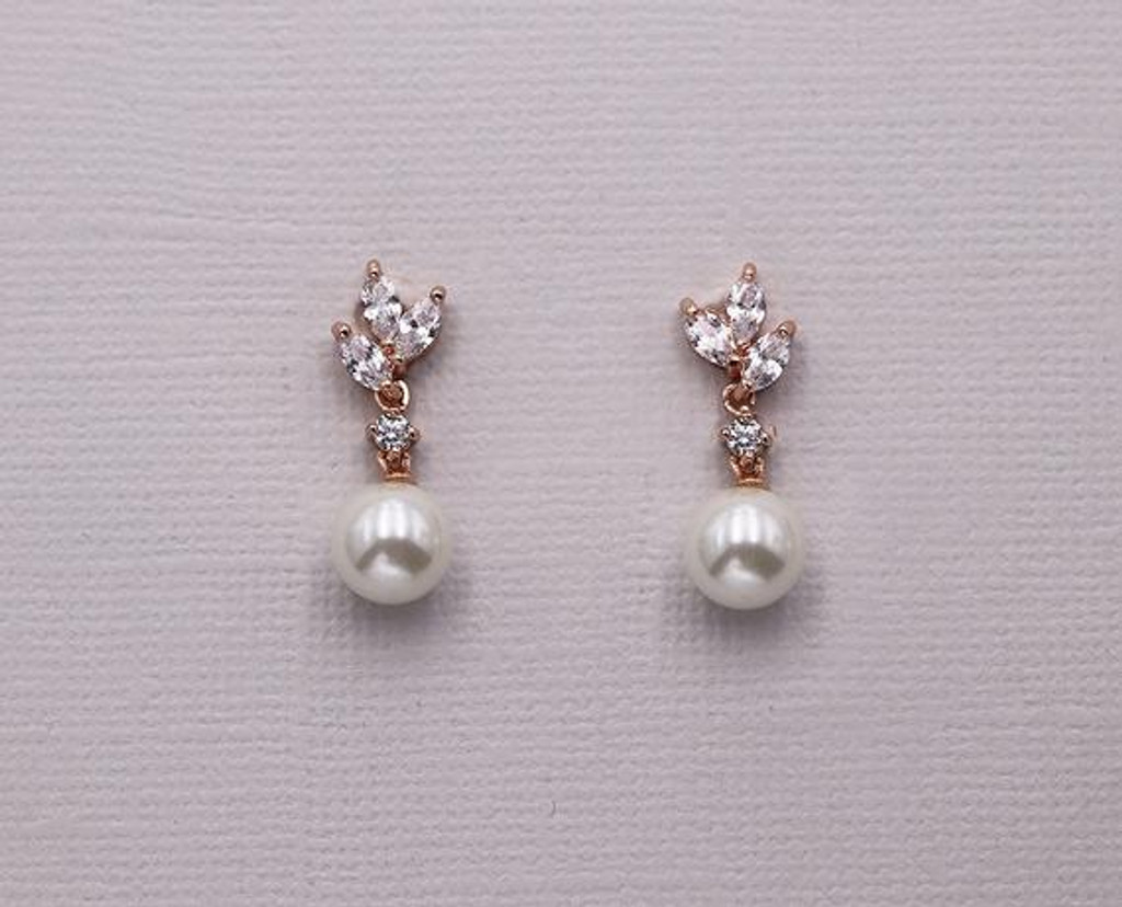 a52a825217fb5 Eve Marquise and Pearl Drop Earrings