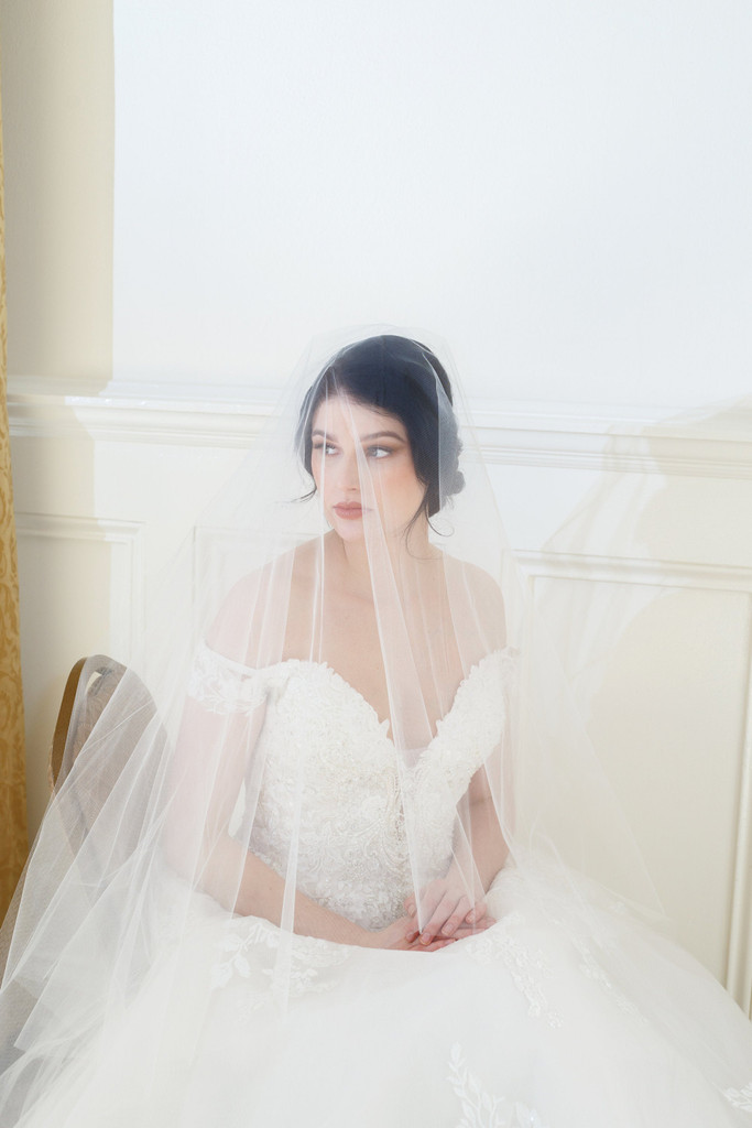 2 Tier Waltz Wedding Veil
