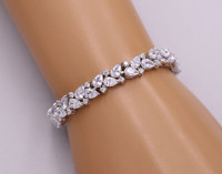 Savannah Cubic Zirconia Wedding Bracelet
