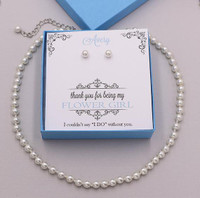 Kaylie Children's Pearl Jewelry Gift Set