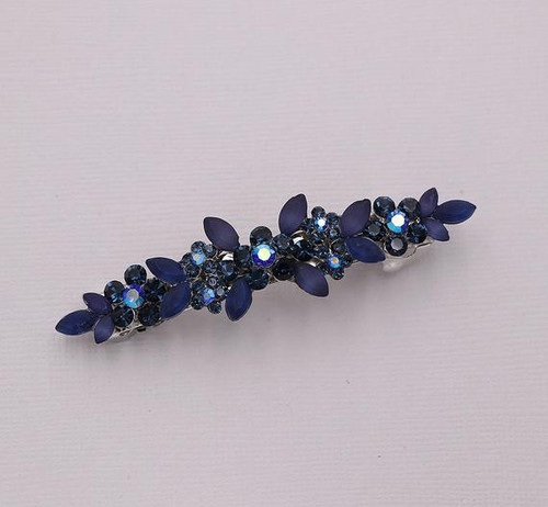 Brynlee Sahppire Blue Barrette Clip
