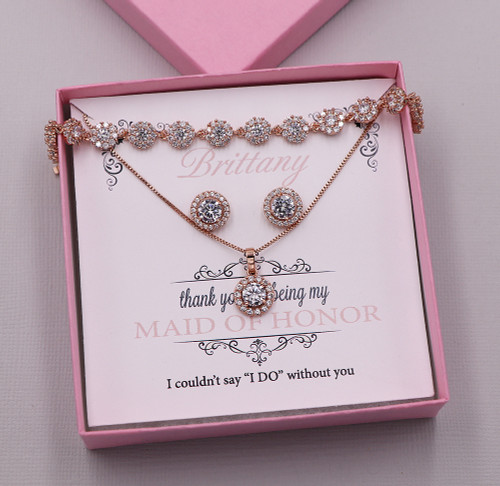The Perfect Bridesmaids Jewelry Gift