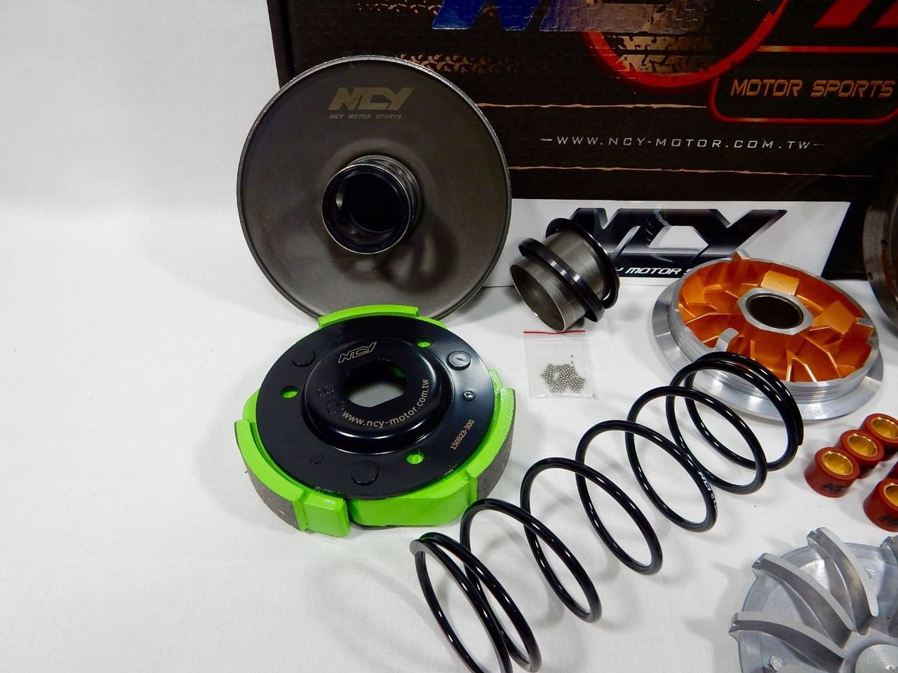 NCY PERFORMANCE SUPER CVT TRANSMISSION KIT FOR SCOOTERS WITH 150cc - 232cc GY6 MOTORS