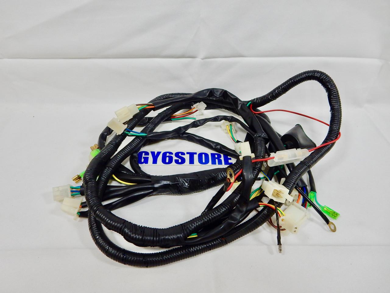 taotao (lancer 150cc) & (evo 50cc) scooter complete wiring harness *oem