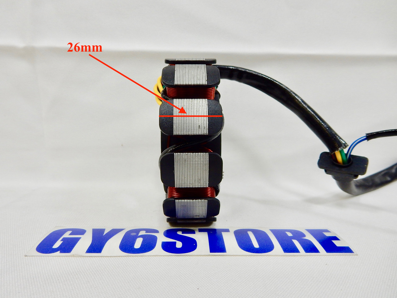 11 COIL POLE STATOR MAGNETO FOR GY6 150cc - 232cc