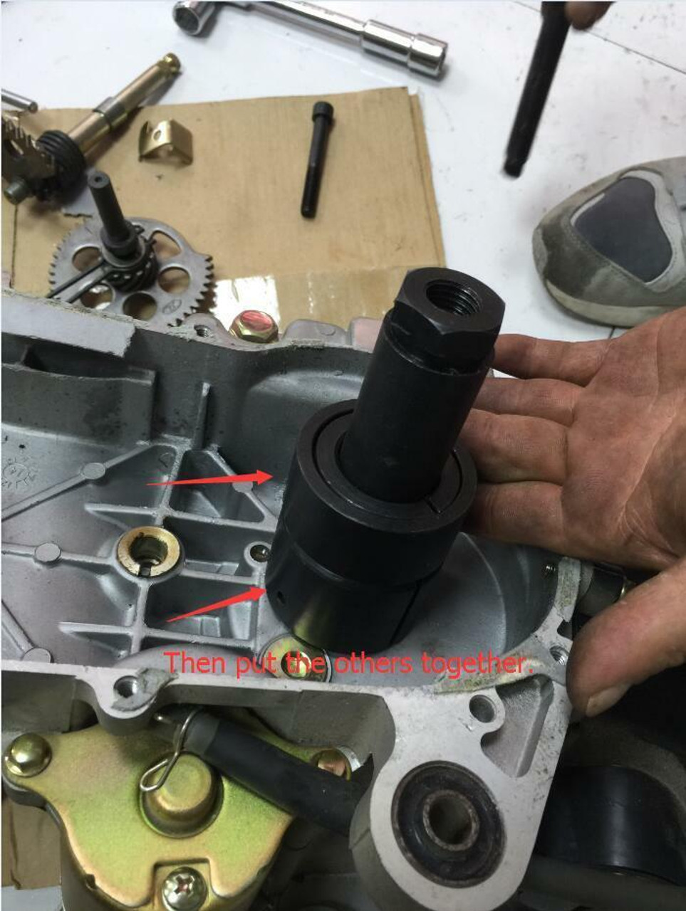 GY6 KICK STARTER GEAR REMOVAL TOOL FOR 150cc GY6 MOTORS