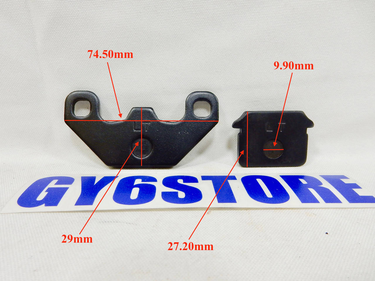 DISC BRAKE PAD SET FOR 50cc 70cc 90cc 110cc 125cc SCOOTERS ATVS DIRT (TYPE 4)