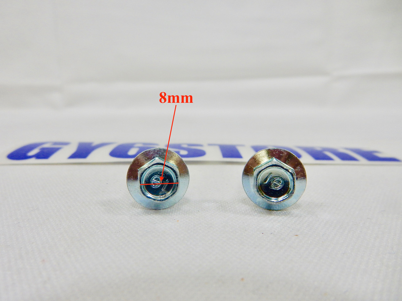 M6 / 6mm x 30mm FLANGE BOLTS *2 PACK*