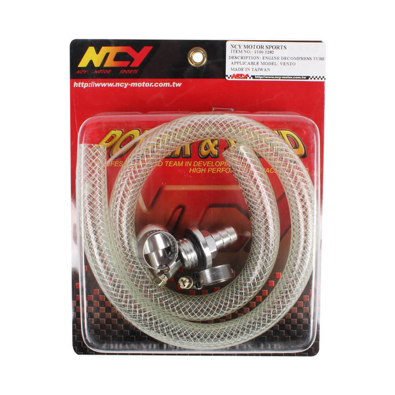 NCY OIL DECOMPRESSION TUBE FOR GENUINE / GY6 SCOOTERS
