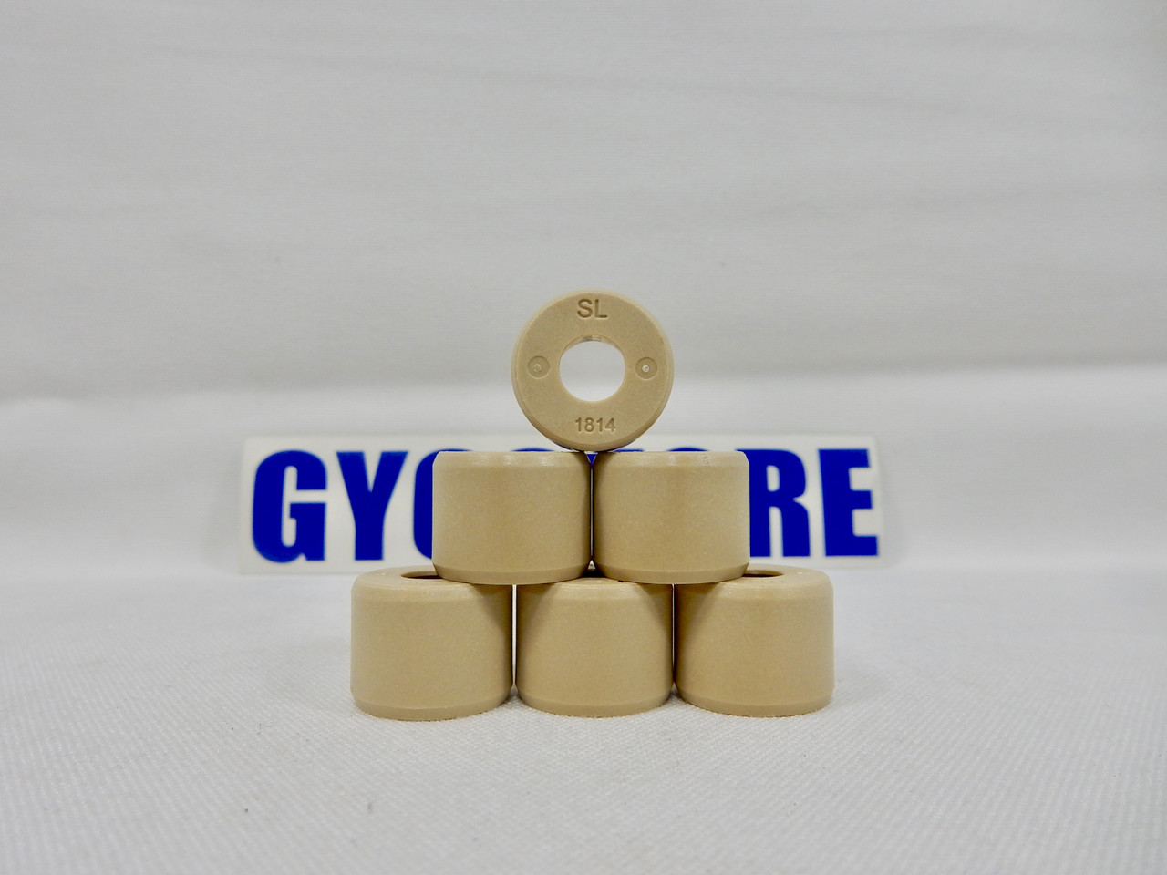 DR. PULLEY (18x14) ROUND ROLLER WEIGHTS FOR 150cc - 232cc GY6 MOTORS