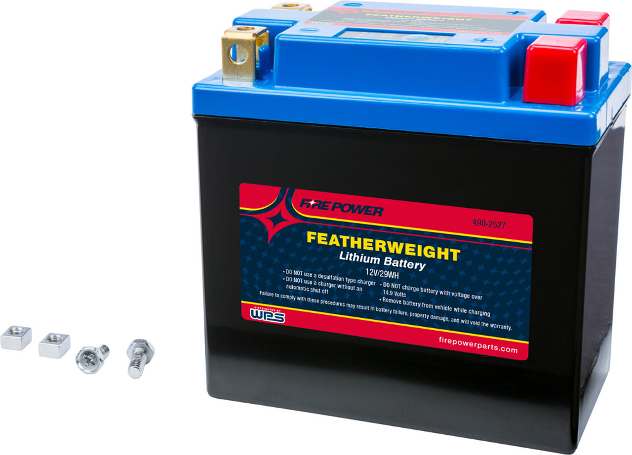 WPS FIRE POWER FEATHERWEIGHT LITHIUM BATTERY 150 CCA 12V/29WH