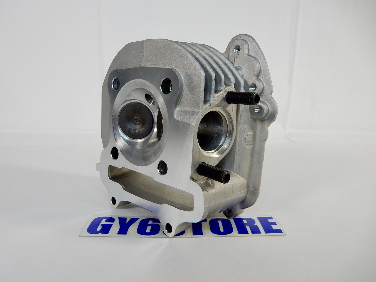 172cc RACING CYLINDER HEAD GY6 *61mm BORE* 28/23 VALVES (54mm SPACING)