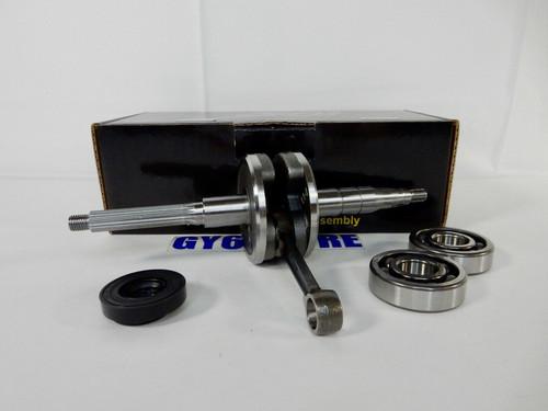 TAIDA CRANKSHAFT FOR 50cc 2-STROKE JOG, MINARELLI, YAMAHA ENGINES 10mm