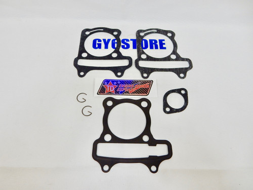TAIDA PERFORMANCE GY6 172cc CYLINDER GASKET SET (61mm BORE) 54mm SPACING