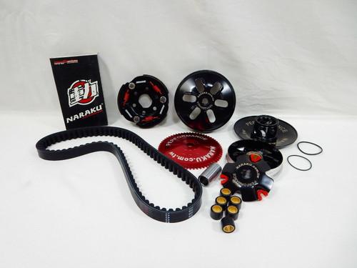 Benzhou Formula One Naraku YY50QT-6 Set di rialzi in alluminio 60 mm