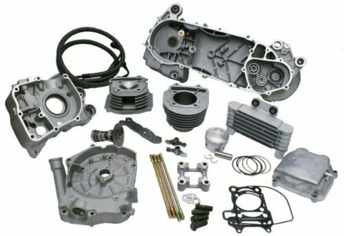 SSP-G 188cc B-BLOCK (63mm BORE) LONG CASE ENGINE KIT *WITH OIL COOLER & 2.5mm STROKER*