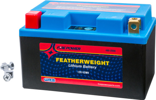WPS FIRE POWER FEATHERWEIGHT LITHIUM BATTERY 230 CCA 12V/42WH