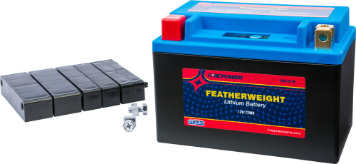 WPS FIRE POWER FEATHERWEIGHT LITHIUM BATTERY 360 CCA 12V/72WH