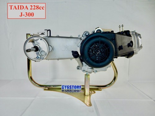 TAIDA 228cc (67mm BORE) 4 STROKE LONG CASE B-BLOCK COMPLETE ENGINE *EASY START* J-300