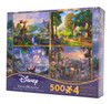 Disney Collection 4-in-1 Puzzle