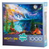Lake Moraine Journey (Night and Day) 1000-piece puzzle