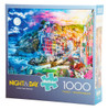 Cinque Terre Splendor (Night and Day) puzzle