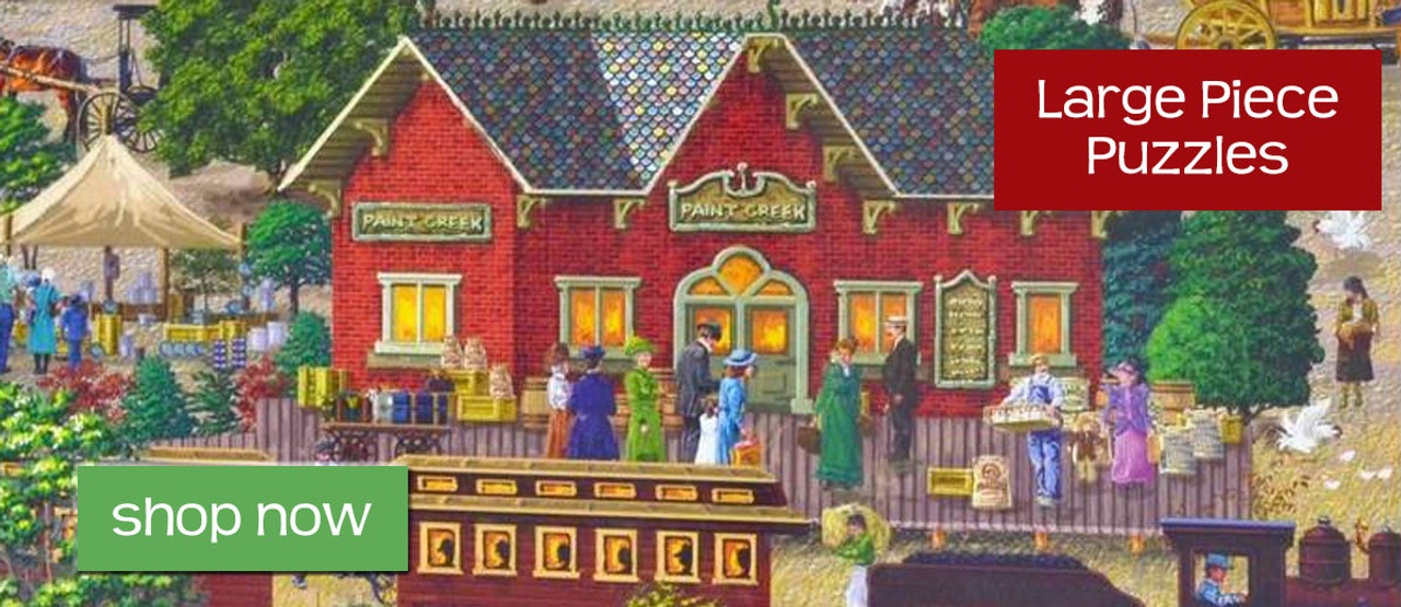 Large Piece Jigsaw Puzzles