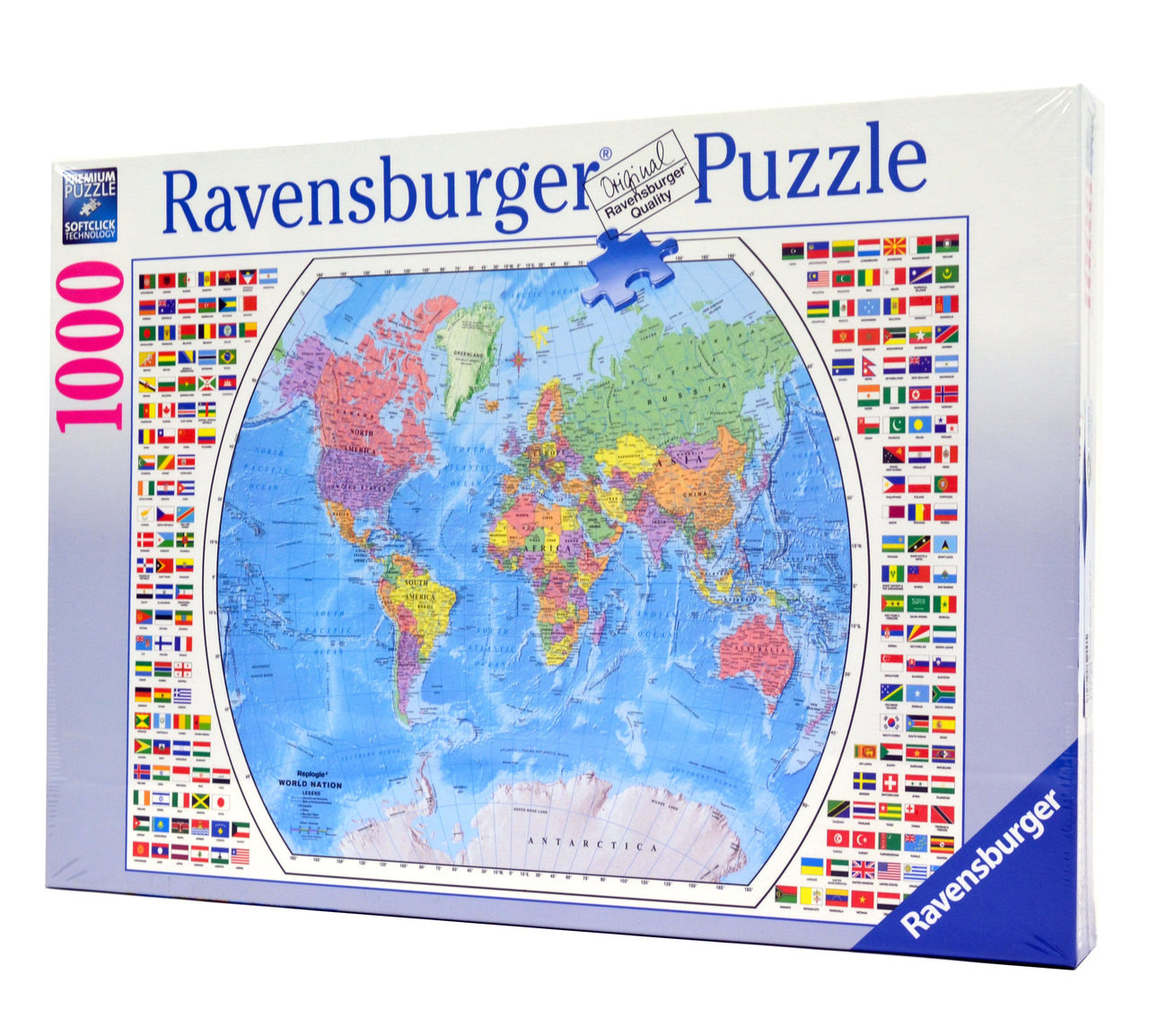 Political World Map Wholesale Puzzles