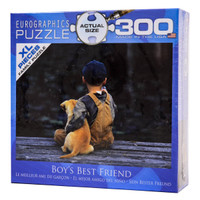 Boy's Best Friend - Large Piece Puzzle