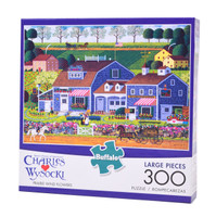 Prairie Wind Flowers (300 Large Piece Puzzle)