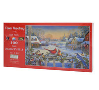 Town Meeting (300 Large Piece Puzzle)