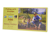 Fishing with Grandpa (300 Large Piece Puzzle)
