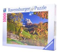 Mountainous Italy - 1000pc Ravensburger Puzzle