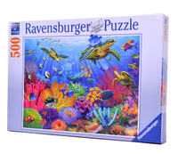 Tropical Waters (500 Piece Ravensburger Puzzle)