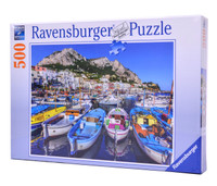 Colorful Marina (500 Piece Ravensburger Puzzle)