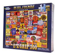 Hotel Stickers (300 Large Piece Puzzle)
