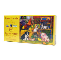 Farm Friends (300 Large Piece Jigsaw Puzzle)