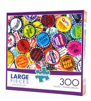 Soda Bottle Caps (300 Large Piece Puzzle)