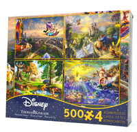Thomas Kinkade 4 in 1 Disney Collection