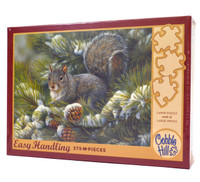 Gray Squirrel (275 Large Piece Easy Handling Puzzle)