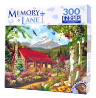 Mountain Hideaway (Large Piece Puzzle)