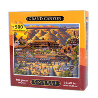 Grand Canyon Jigsaw Puzzle by Eric Dowdle