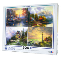 Thomas Kinkade 4 in 1 Collection