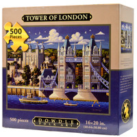 Tower of London Jigsaw Puzzle by Eric Dowdle