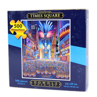 Time Square Jigsaw Puzzle by Eric Dowdle