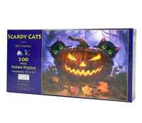 Scardy Cats (300 Large Piece Puzzle)