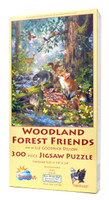 Woodland Forest Friends (Large Piece Puzzle)
