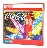 Splash of Coca-Cola (300 Large Piece Puzzle)