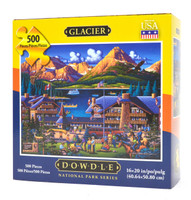 Glacier National Park puzzle