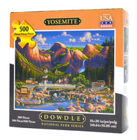 Yosemite National Park puzzle
